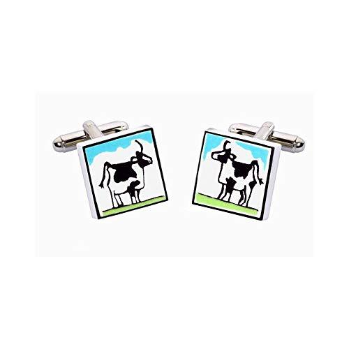 Sonia Spencer - Boutons De Manchette, Cow, Vache
