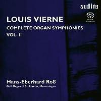 ヴィエルヌ : オルガン交響曲 第3番 & 第4番 (Louis Vierne : Complete Organ Symphonies Vol.II / Hans-Eberhard Ross (Goll Organ of St. Martin, Memmingen)) [SACD Hybrid] [輸入盤]