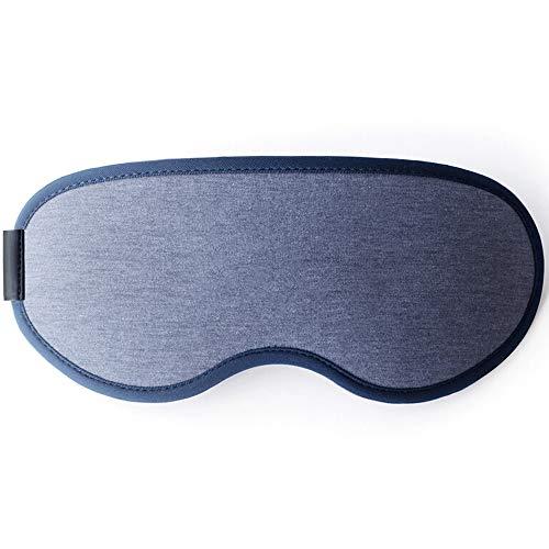 XXHDEE Sombrilla del sueño Confort ventilación Bobina avión Viaje Viajes Accesorios máscara de Ojo máscara del sueño (Color : Blue)