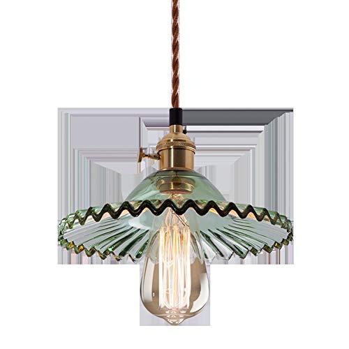 Deckenleuchten Wohnzimmer Moderne Pendelleuchte Nordic Kreative Retro Stehtisch LED Grün Regenschirm Kronleuchter,Grün,A