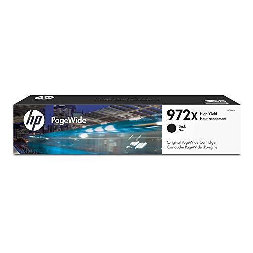 HP 972X | PageWide Cartridge High Yield | Black | F6T84AN