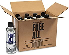 Free All Deep Penetrating Oil - Free Rusted and Frozen Parts - Silicone-Free and Body Shop Safe, 12 Count