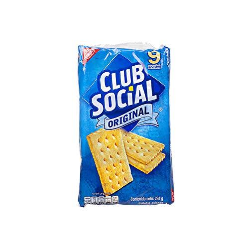 CLUB SOCIAL Original - Galletas Saladas, 234g