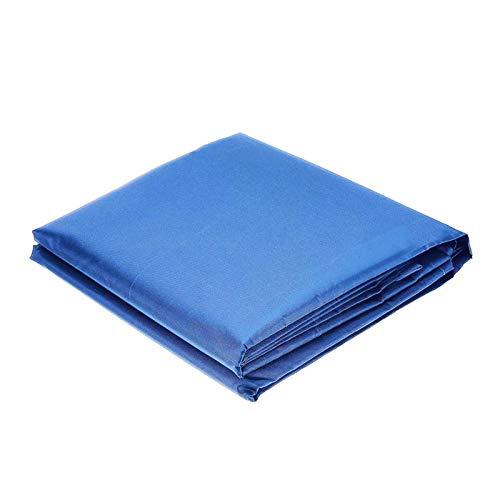 YDL Cubierta de Polvo de Tela de Encargo Universal de Oxford para la terraza Exterior Mobiliario de jardín, asador, Coche, TV, Piscina, Parasol (Color : Blue, Specification : Custom Size)