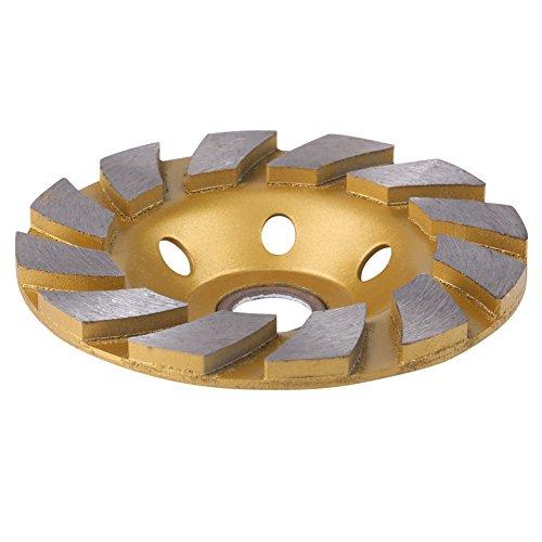 Diamantscheibe 10cm Diamantsegment Schleifscheibe Scheibe 6 Löcher für Marmor Betonstein