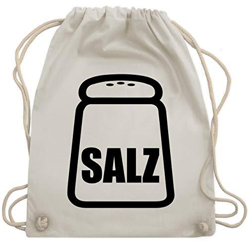 Shirtracer Karneval & Fasching - Salz Karneval Kostüm - Unisize - Naturweiß - salz kostüm - WM110 - Turnbeutel und Stoffbeutel aus Baumwolle