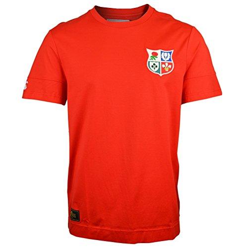 British & Irish Lions Mens Official Cut & Sew Panelled Camiseta Top