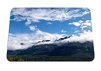 26cmx21cm マウスパッド (山雲のピーク) パターンカスタムの マウスパッド