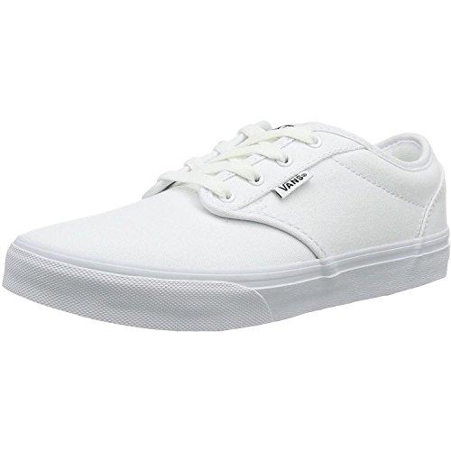 Vans Atwood Sneaker Kids Kinder Schuhe Canvas, Schuhgröße:EUR 39;Farbe:Weiss