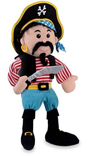 FIESTA Streifen Piratenhandpuppe