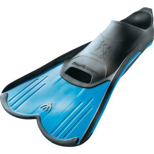 Cressi aletas natación luz (fabricado en Italia), azul