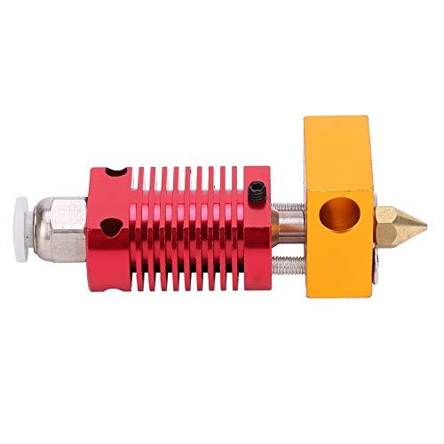 Cabezal de extrusión de impresora 3D Extrusión de extremo caliente Cabezal de extrusión de extremo caliente Aluminio para Ender3 / 3S / V2 / 5/6
