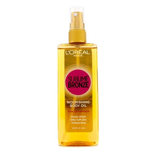 L'Oreal Sublime Bronze Nourishing Body Oil (Tan Optimiser) 150ml
