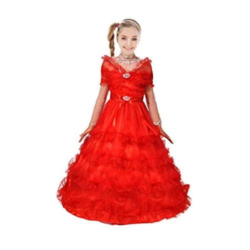 Ciao-Barbie Magia delle Feste (Deluxe Collector's Edition) costume bambina, 8-10 anni, Rosa, 11662.8-10