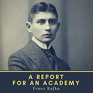 A Report for an Academy audiobook cover art