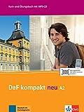 DaF kompakt neu a2, libro del alumno y libro de ejercicios: Kurs- und Ubungsbuch A2 mit MP3-CD