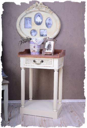Table Console Style Maison dE Campagne fRANÇAISE Blanc Style Shabby Chic eXCLUSIVITÉ Palazzo