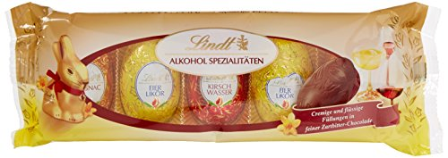Lindt & Sprüngli Alkohol-Eier, Beutel, 3er Pack (3 x 90 g)