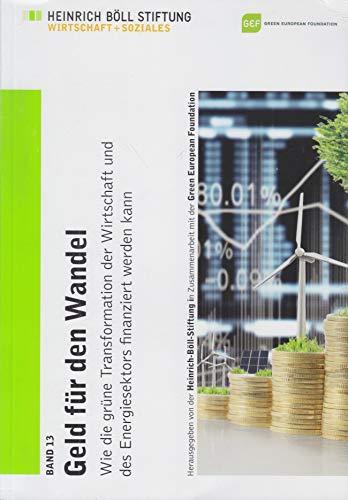 Geld für den Wandel: Wie die grüne Transformation der Wirtschaft und des Energiesektors finanziert werden kann