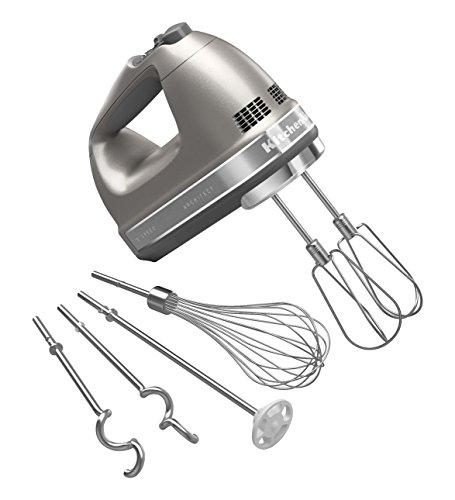KitchenAid Architect Hand Mixer - 9-speed - Architect - Silver KHM926ACS