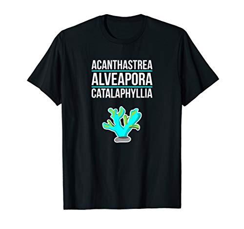 Herren Aquarium Aquarianer Korallen Aquarist Aquaristik Geschenk T-Shirt