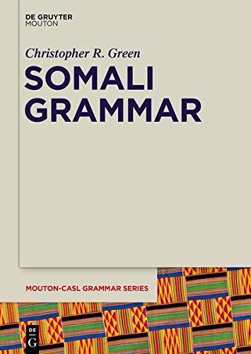 [画像:Somali Grammar (Mouton-casl Grammar)]