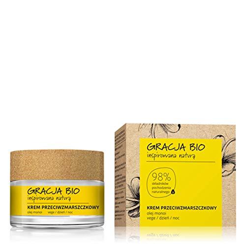 Gracja - Crème anti-âge naturelle et vegan - 98% d'ingrédients naturels