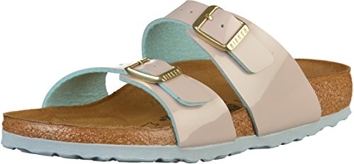 BIRKENSTOCK Sydney BF Lack Two Tone LightGray 37
