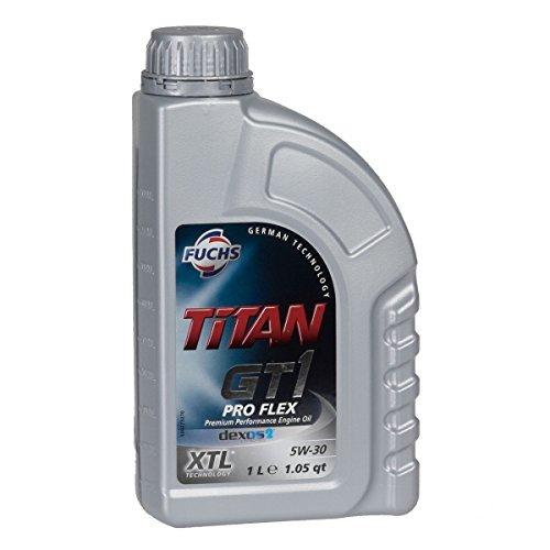 Motoröl Fuchs Titan GT 1 Pro Flex 5W-30 1 Ltr. Dose