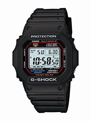 Casio Men's G-SHOCK Quartz Watch with Resin Strap, Black, 20 (Model: GWM5610-1)