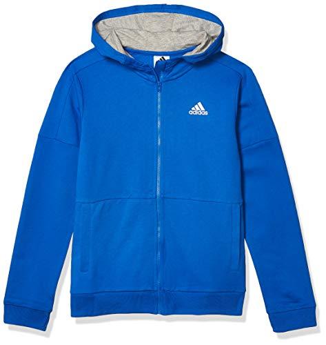 adidas Boys' Big Athletics Jacket, Team Royal Blue, M(10/12)