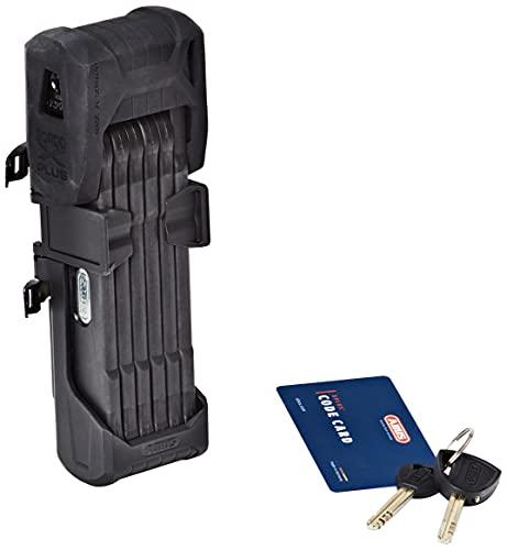 ABUS 780684 Bordo Granit XPlus 6500/85 SH Black-85 cm Lunghezza / 5,5 mm Acciaio Bici Lock, Nero, 6500