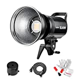 Godox SL-60W 60W CRI95+ Qa90 5600±300K Bowens Mount Led Continuous Video Light, Wirelessly Adjust Brightness, 433MHz Grouping System,for Video Recording, Wedding, Outdoor Shooting