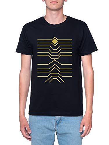 Halcones Bnha Camiseta Hombre Negra T-Shirt Men's Black