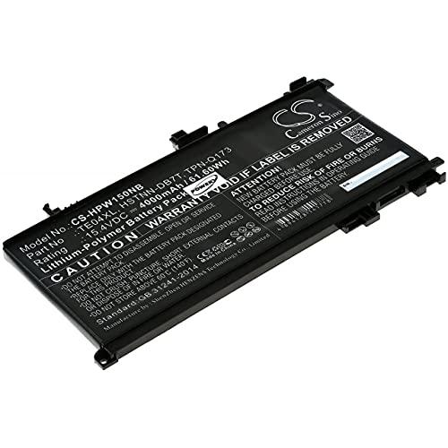 Powery Batería para portátil HP Omen 15-AX207NA / Omen 15-AX207NS, 15,4V, Li-Polymer