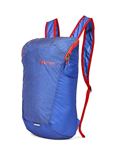 Marmot Kompressor Comet Sac à Dos Ultra léger Royal Night/Victory Red FR : Taille Unique (Taille Fabricant : 14 l)