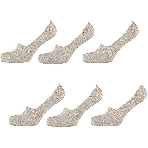 apollo Herren Socken Sneaker, Light Grau, 31/35, 000321415000