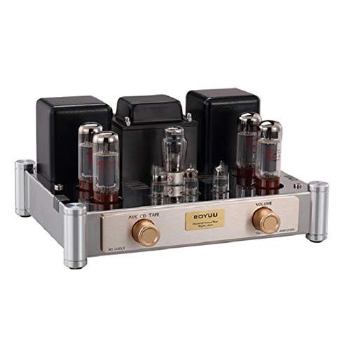 Reisong BOYUU MT-34 Amplificatore valvolare EL34 / 5Z4P / 6N1J AMP con amplificatore di ingresso CD / AUX / TAPE con coperchio