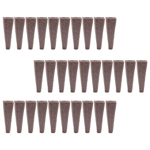 YARNOW 50 Piezas de Semillas de Plántulas de Bloques de Suelo de Semillas de Turba para Plantas de Interior Al Aire Libre Herramienta de Plantación de Plantas
