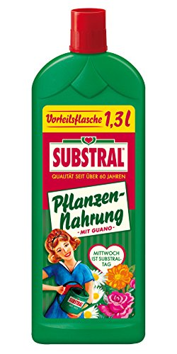 Substral Plantes – Alimentaire avec Guano – 1,3 l