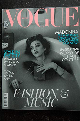VOGUE JUNE 2019 COVER MADONNA FASHION & MUSIC