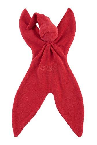 Cuski 'Reddy' - doudou pour enfant (rouge)