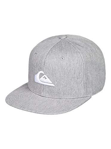 Quiksilver Herren CHOMPERS HAT Baseball Cap, Hellgrau (Light Grey Heather), Einheitsgröße