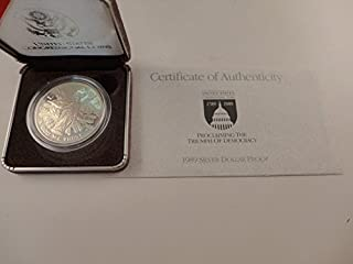 1989 United States Congressional Coin Proof Silver Dollar $1 Mint State US Mint