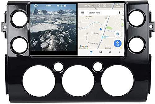 AEBDF Android Sat Nav para Toyota FJ Cruiser 2007~2016 Coche Radio Estéreo Multimedia Player GPS Sistema de navegación Soporte Completo RCA Salida Auto Play DVR,8 Core 4G+WiFi 2+32G