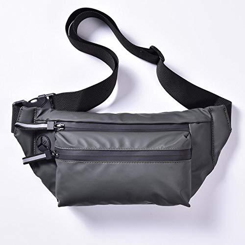YYMMQQ Sac à Dos d'extérieur,Fashion Men's Waist Bag Fanny Pack Crossbody Bags for Women Chest Belt Bag Travel Outdoor Man Packs Waterproof Bag,H8202 Green,China