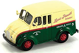 Divco Delivery Truck, Louis Trauth Dairy, 1950, Model Car, Ready-made, American Heritage Models 1:87