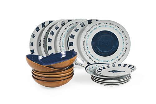 Villa D'Este Home Tivoli 2193923 - Vajilla de porcelana y gres