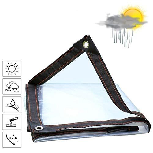 QI-CHE-YI Lona Impermeable a Prueba de Lluvia de Tela Impermeable Protector Solar Resistente al Desgaste toldo de Tela de jardinería Mascotas Camping al Aire Libre,3x5m
