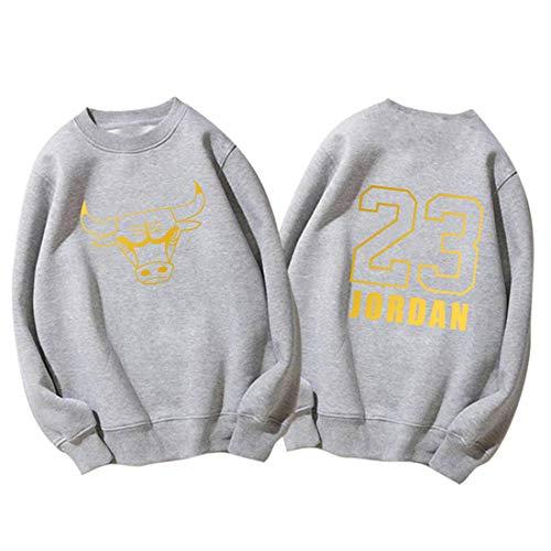 Chicago Bulls Nr. 23 Jordan Basketball Sweatshirt Herren- und Damen-Rundhalspullover